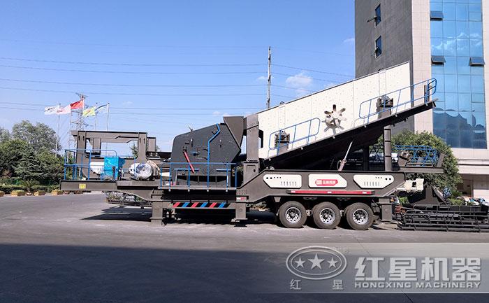 建筑垃圾处理设备(轮胎)