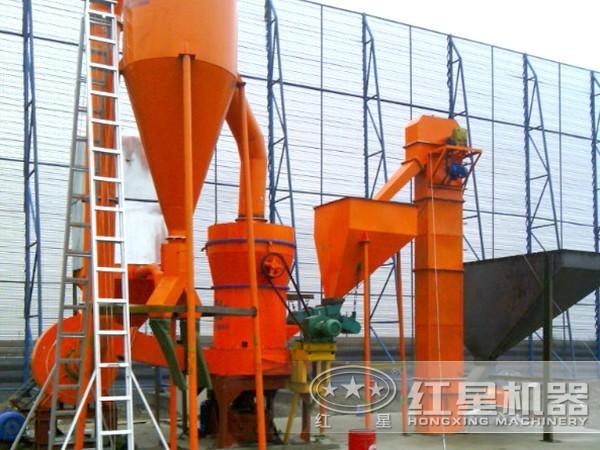 新型叶腊石磨粉生产线