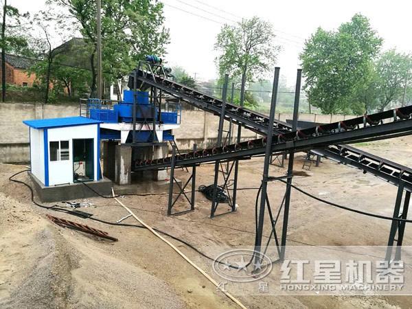 水洗砂生产线工艺流程