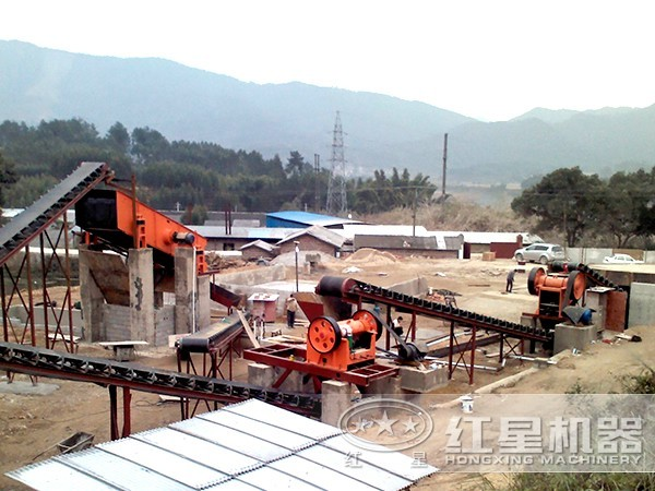 石料生产线设备配置