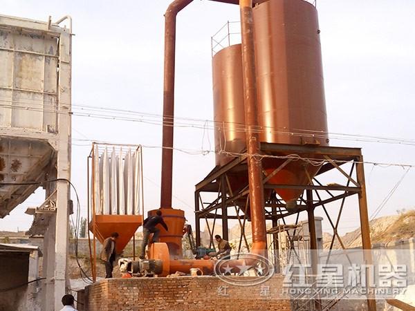 流纹岩磨粉生产线