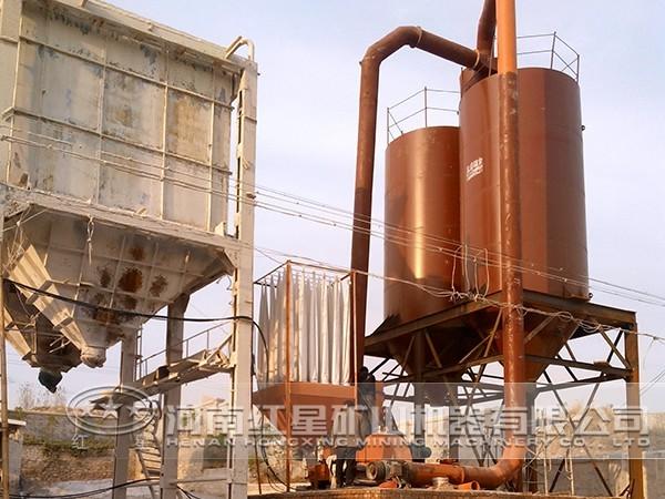 叶腊石磨粉生产线特点