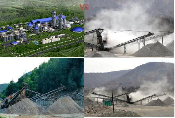 环保砂厂VS传统砂厂