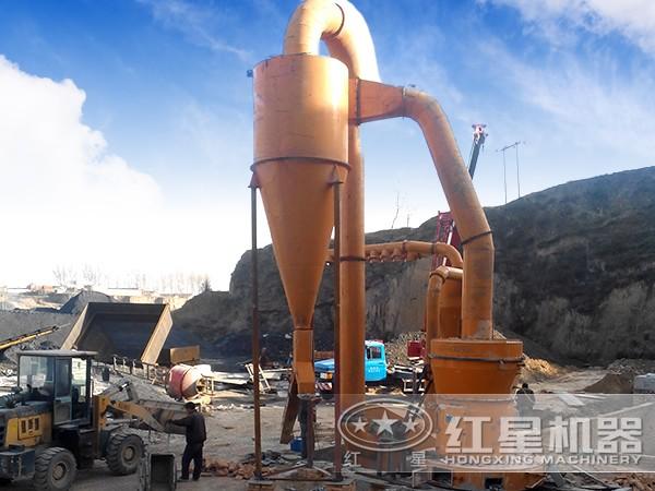 新型叶腊石磨粉生产线工艺流程