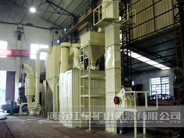 透辉石磨粉生产线