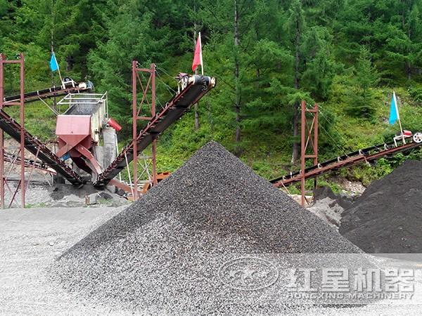 环保砂石生产线投资前景可观