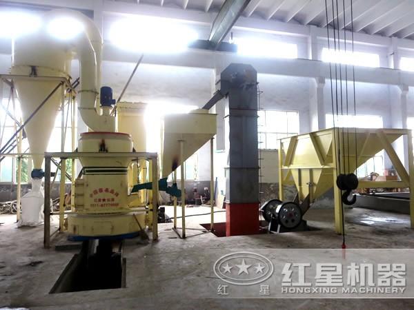 325目长石磨粉机工作原理