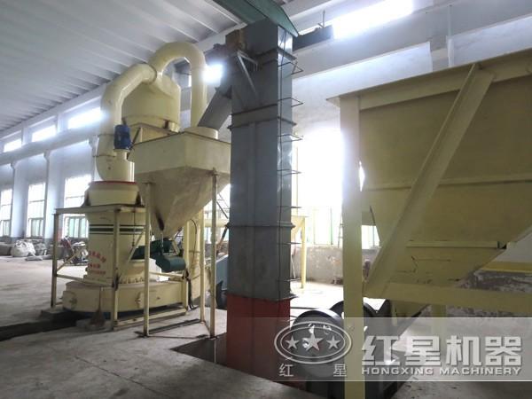 高岭土雷蒙磨粉机操作流程