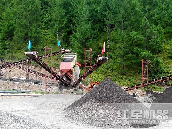 日产500方石子生产线环保