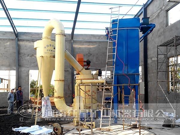 工业磨粉生产线性能特点