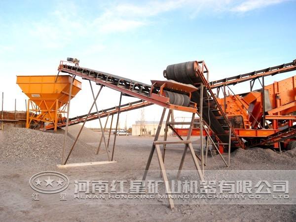石料生产线优势