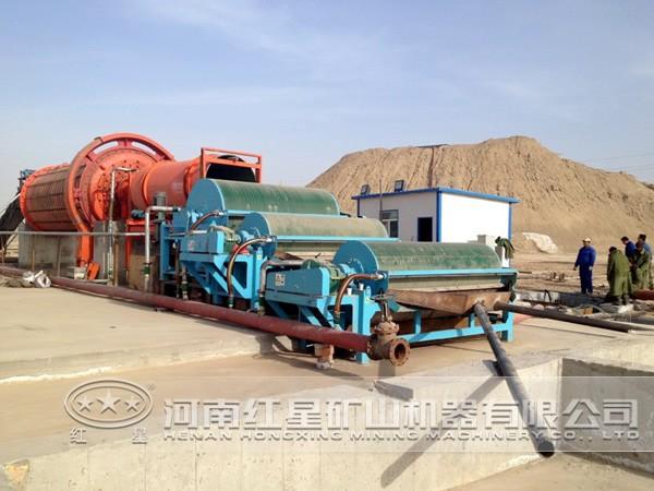 铁矿加工工艺流程