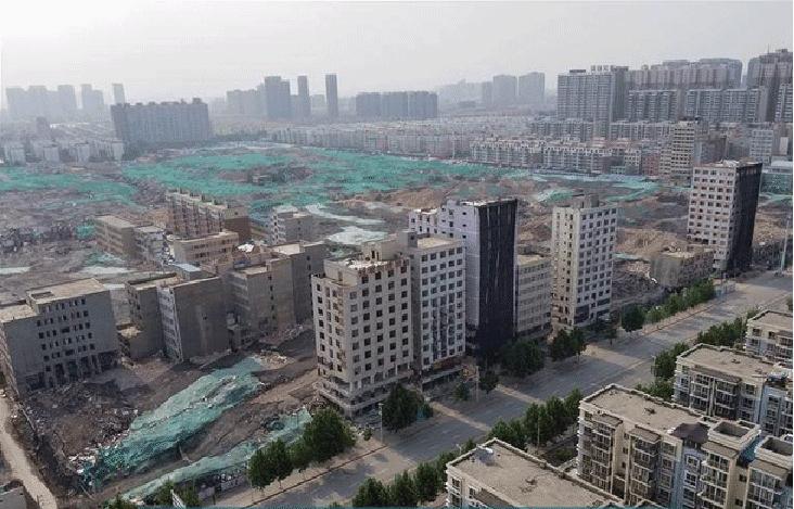 城中村拆除后周围环境