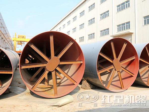 时产10吨石英砂烘干机厂家