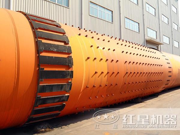 时产10吨石英砂烘干机