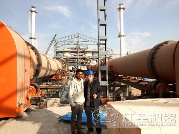 水泥生产线走向伊朗市场
