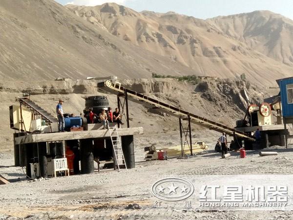 砂石生产线流程