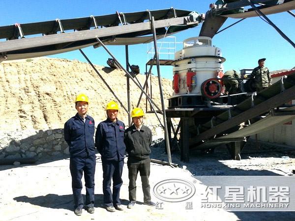 经典砂石设备生产线