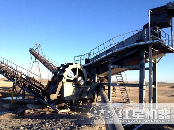 500-600t/h石英石制砂生产线