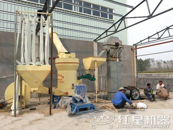 磨粉生产线现场图