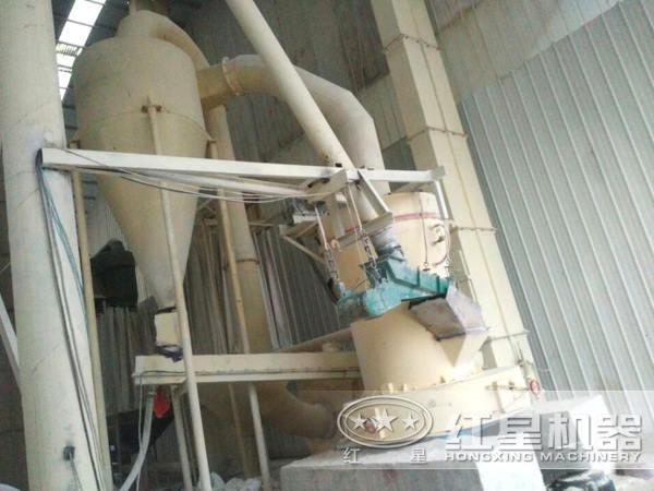 白云石粉磨粉工艺流程