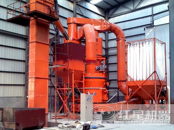 石灰石磨粉加工工艺流程