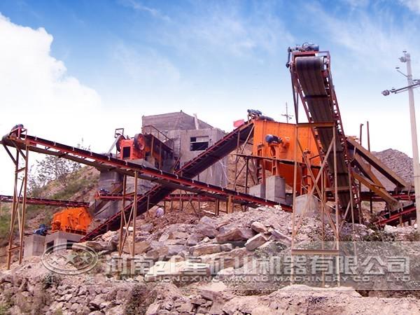 河北270t/h蛇纹岩破碎生产线特点