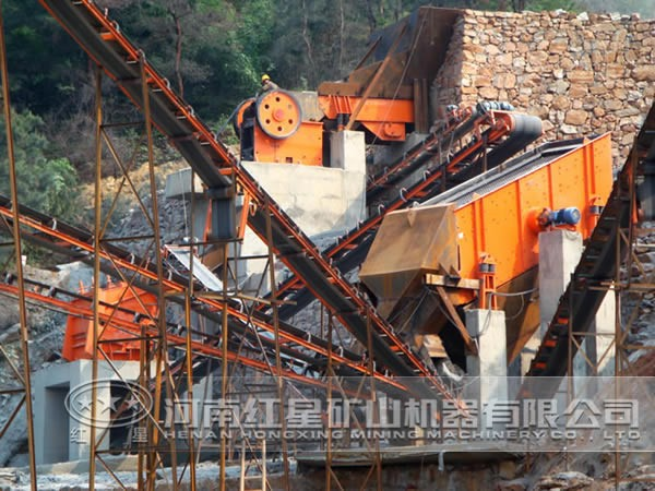 水电站砂石料加工
