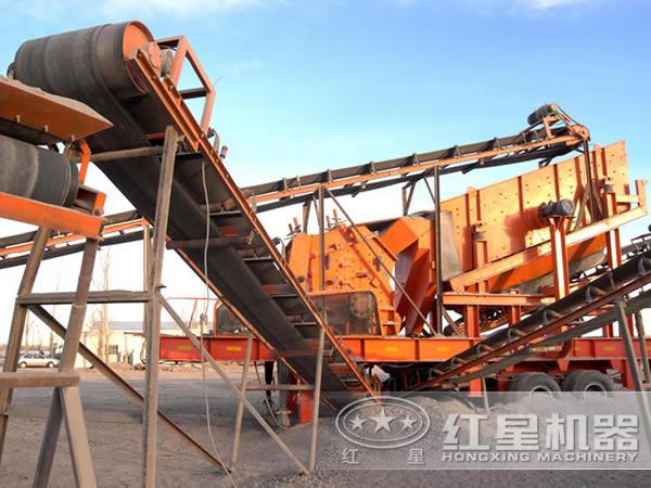 河卵石干法制砂生产线