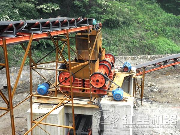 石料粉碎机砂石厂表现