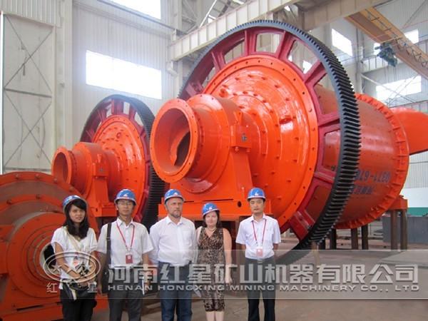锰矿球磨机厂家