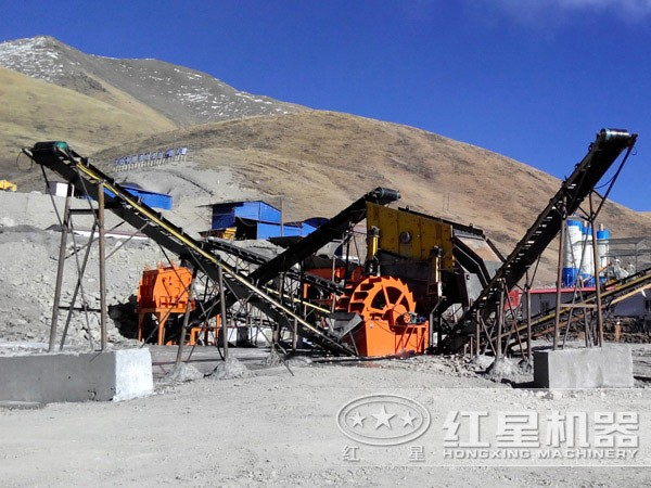 湿法硅沙制砂生产线