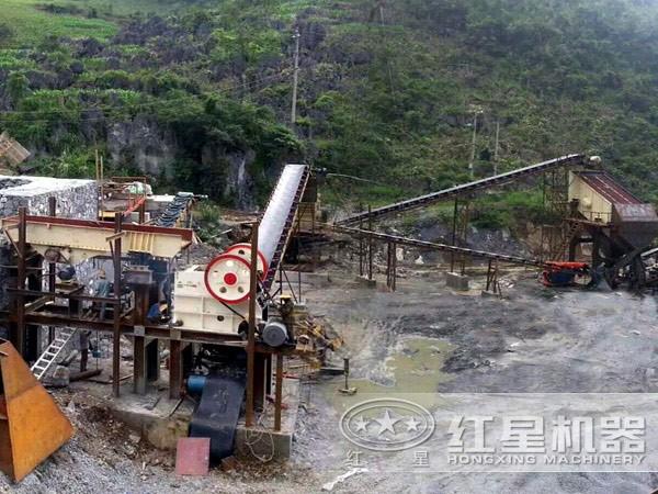 机制砂生产线环保