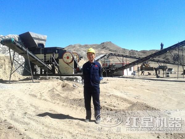 石料生产线高效运行