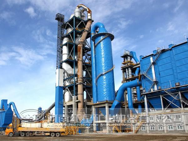 新型水泥生产线投资