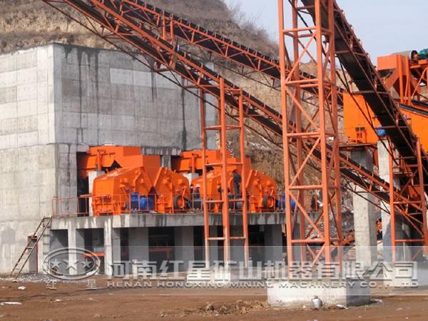 时产400吨花岗岩生产线工艺流程