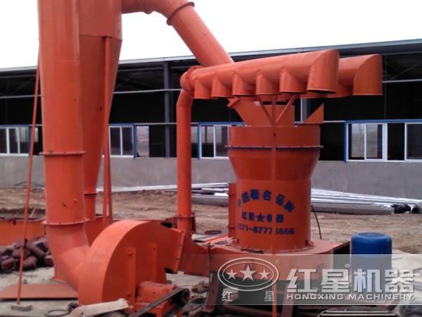 氢氧化铝磨粉生产线工艺流程现场
