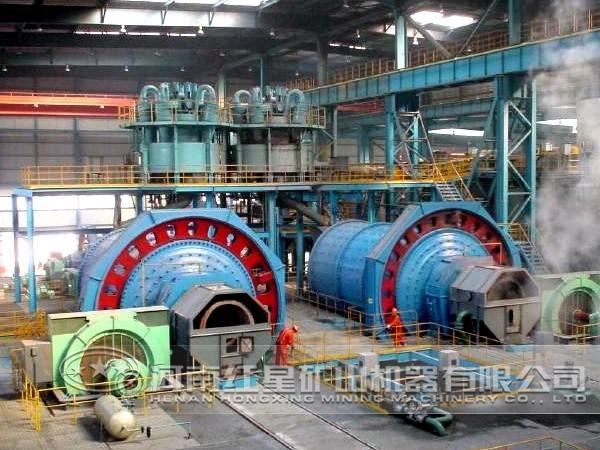 锰矿选矿生产线