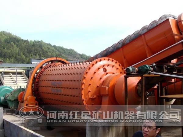 辉钼矿选矿工艺流程