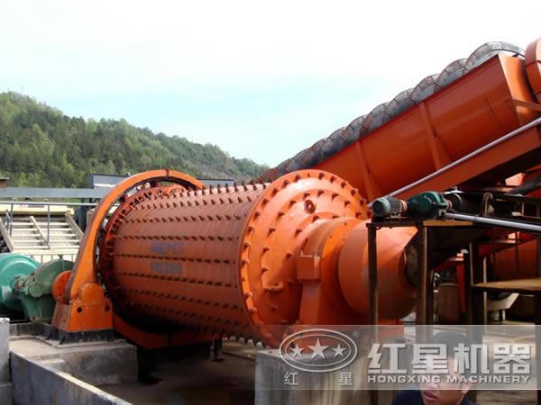 选矿设备生产线流程