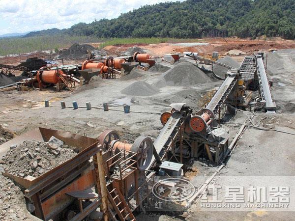 钨矿选矿工艺现场