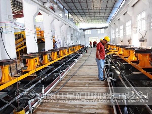 铜矿加工生产线投资