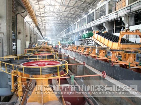 铜矿加工生产线设备配置