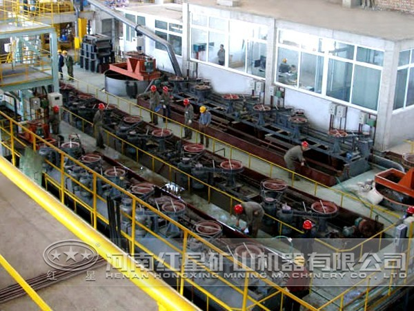 铅锌矿浮选工艺流程及实践