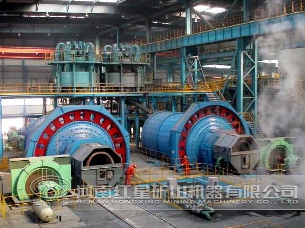 钼矿选矿生产线设备