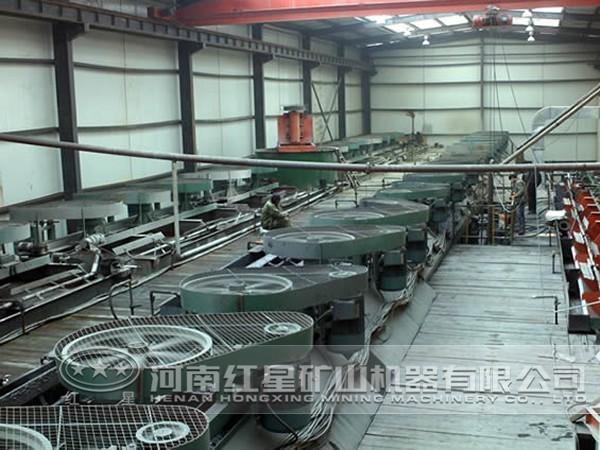 菱锌矿选矿生产线优势