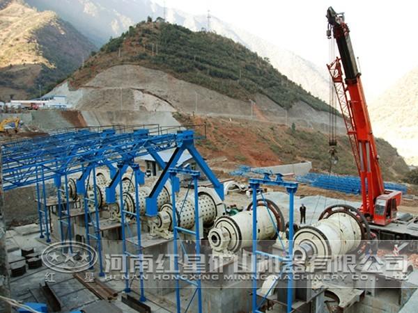 金属矿选矿流程