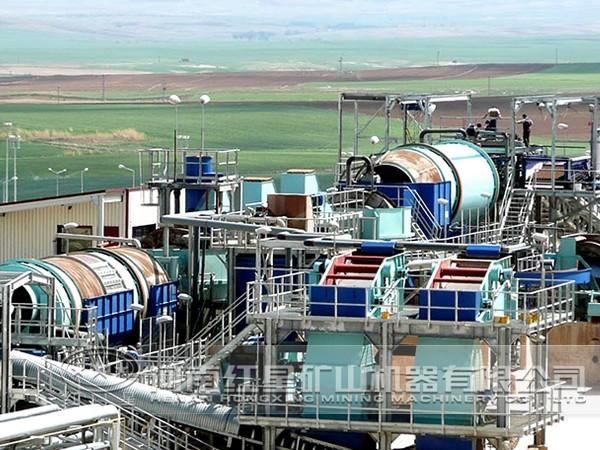 菱锌矿选矿生产线流程