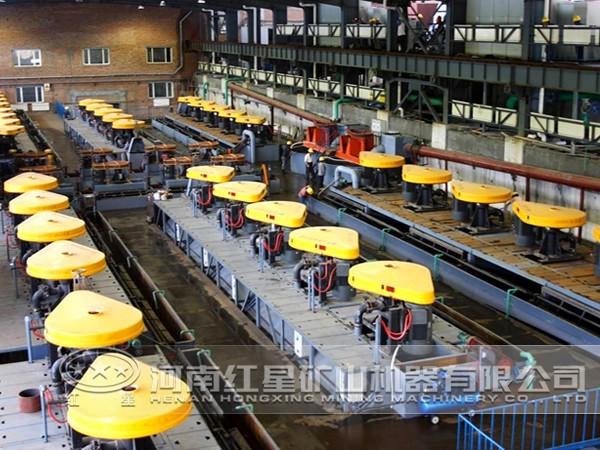 锰矿选矿生产线流程