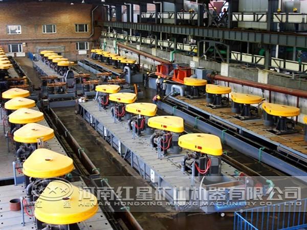 钙钛矿选矿生产线工艺流程